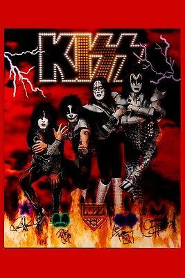 KISS Group Photo Poster 1990's 13x19 (Kiss Group Photo)