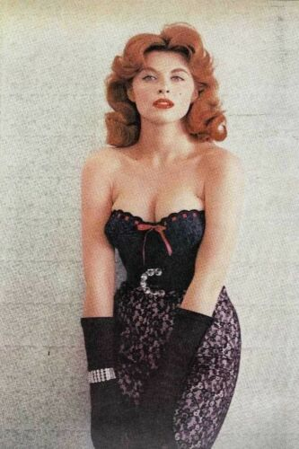 Tina Louise P96 Pinup Girl 4x6 REFRIGERATOR Fridge Magnet Man Cave DECOR ToolBox