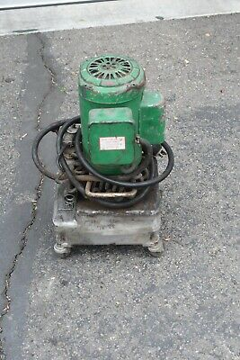 Greenlee Hydraulic Power Pump 960-sa-ps