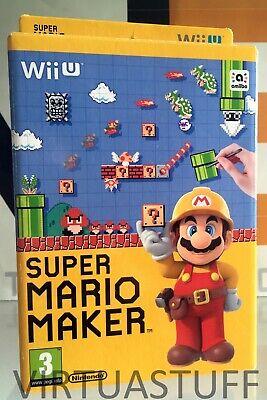 SUPER MARIO MAKER, SPECIAL PACK, Nintendo, WII U, French Market, Multilanguage ! segunda mano  Embacar hacia Spain