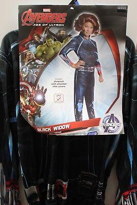 Schwarze Witwe Mädchen Kostüm Groß 12-14 Avengers Superhelden Cosplay - Große Schwarze Witwe Kostüm