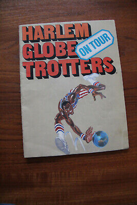 Harlem Globe Trotters on Tour -1978 - Program with extensive Photos
