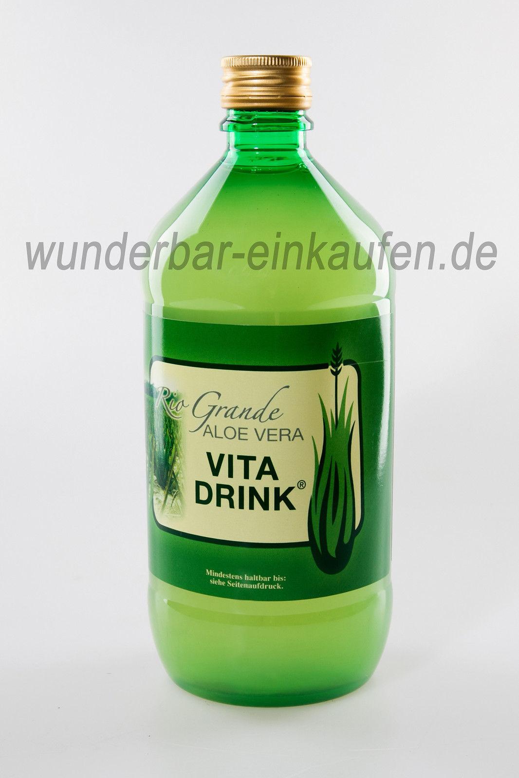 Aloe Vera Vita Drink Saft  aloinfrei Lailique Nahrungsergänzung Farmer House