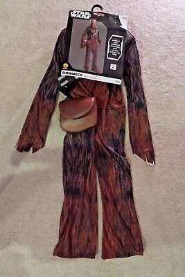 Star Wars Chewbacca Chewie Halloween Costume youth child kid sizes S / M / L](Star Wars Halloween Costume Baby)