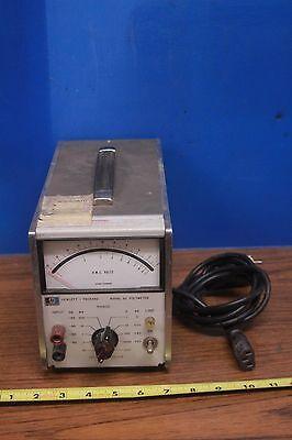 Vintage Hewlett Packard Hp 400gl Ac Voltmeter