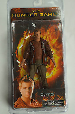 Hunger Games Exclusive Cato & Rue District 12 Action Figures NECA New Sealed Box Hunger Games Cato