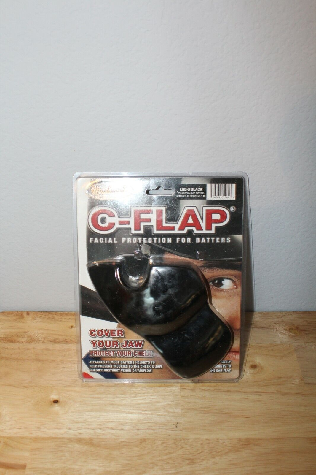 Markwort C Flap Batting Helmet Face Jaw Cheek Protector Base