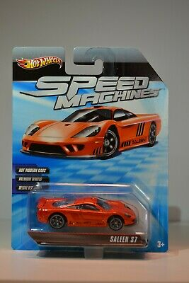 Mattel - Hot Wheels - Speed Machines - Saleen S7