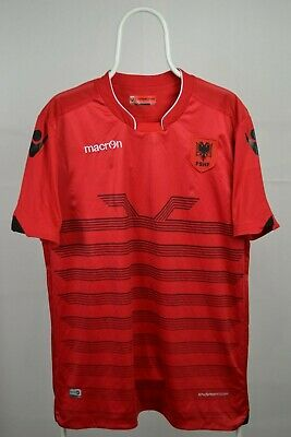Albania 2016 2017  Jersey maillot shirt maglia leotard shirt football macron XL image
