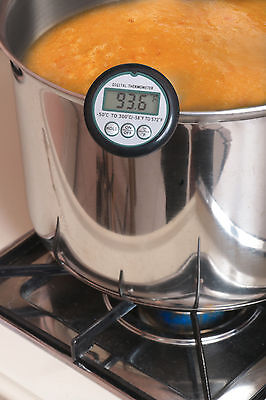 Digital Candy Thermometer with Stainless steel Pot Clip, Instant read.