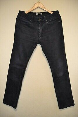 Acne Studios Men's Jeans Pants Black Max Cash Skinny Slim Size W31/ L32