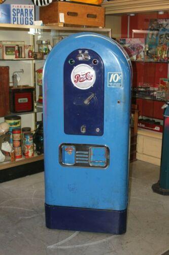 "1953 VINTAGE PEPSI Soda ""Light Up"" Jacobs Model 56 Vending Machine Original"