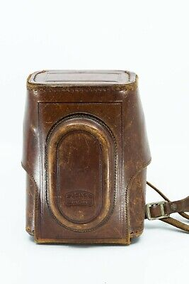 Zeiss Ikon Contax Contaflex 35mm TLR Camera Leather Field Case