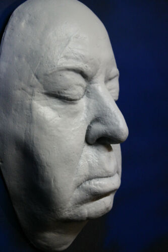 Alfred Hitchcock 1:1 Life Mask Suspense  Director - Birds - Psycho