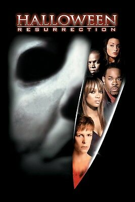 Movie Poster 2002 Halloween Resurrection With Jamie Lee Curtis (3 - Halloween Movie With Jamie Lee Curtis