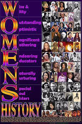 Women's History Poster