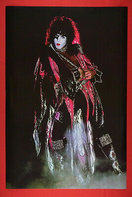 Paul Stanley of Kiss Rock Band Pink Costume Promo Poster 24X36 New     KPAL