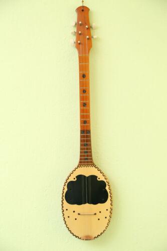 Albanian Prim. Five Strings Pro Folk Musical Instrument Craftsmanship, 74 cm