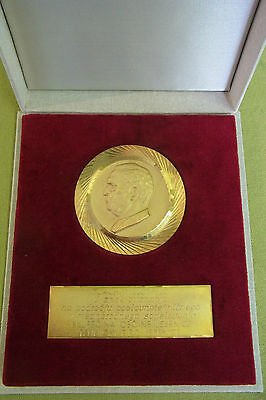 Hohe staatl. Auszeichnung - Jugoslawien - Josif Broz Tito - goldfarben