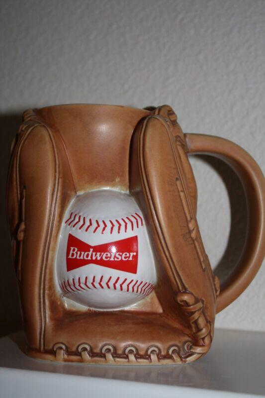 """Baseball Mitt Stein by Budweiser Beer  """"1995"""""""
