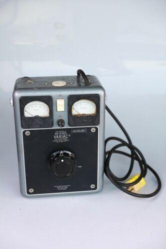 General Radio Company W20HMT3A Metered Variac Autotransformer