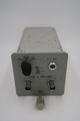 Princeton Applied Research Type A Preamp