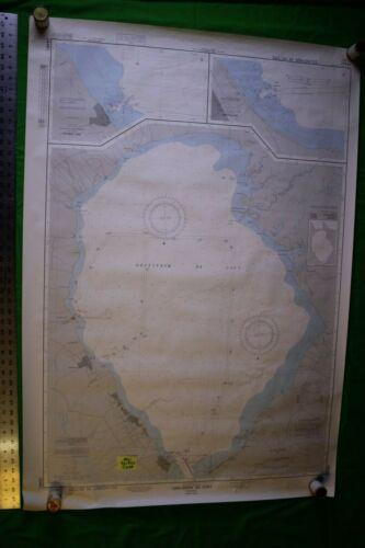 Venezuala - Lago De Maracaibo 35.5x48 Vintage 1988 Nautical Chart/Map