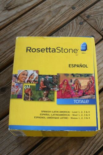 Rosetta Stone Espanol Spanish (Latin America) Level 1-4