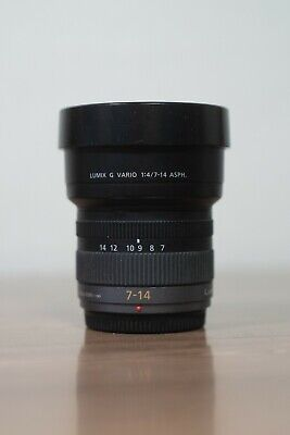 PANASONIC LUMIX G VARIO 7-14mm f4 Lens