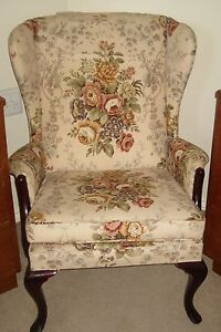 Queen Anne 3 piece 2 seater and 2 wingback chairs Perth Perth City Area Preview