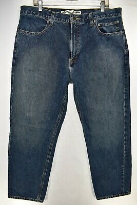 Harley Davidson Mens Classic Traditional Fit Jeans Sz 38x30 Straight Meas 38x30