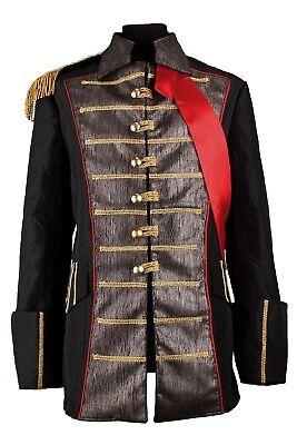 ren Piraten Jacke Pirat Hochwertige Fasching Kurz 46-66 (Hochwertige Piraten-kostüm)