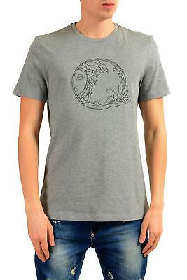 Versace Collection Men's Gray Graphic Print T-Shirt Sz S M L XL 2XL