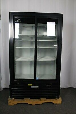 Ding Dent Beverage Air Mt49-1-sdb Two Section Refrigerated Merchandiser