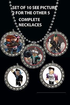 Roblox  lot of 10 necklaces necklace loot bag party favors