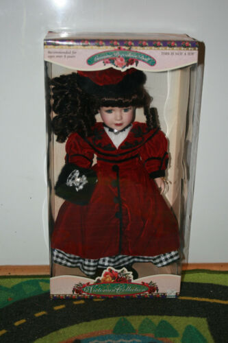 "Brass Key Victorian Primrose Collection 19"" Genuine Porcelain Doll"