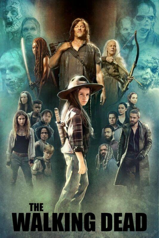 "8.5/"" x 11/"" Poster t8 The Walking Dead  -"