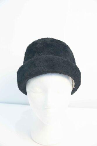 Vintage Miss Dior Christian Dior Black Felt Fur Hat