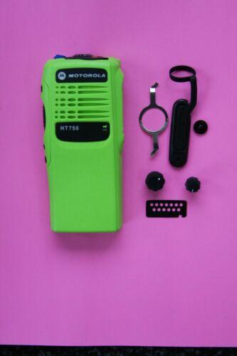 GREEN Motorola HT750 16 Channel Refurb Housing Kit