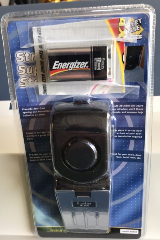 Streetwise Portable Super Door Wedge Stop Alarm Model SDS85 With Battery