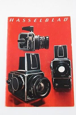 Hasselblad Camera System Catalog 500C/M, SWC, 500EL/M, and Lenses ENGLISH