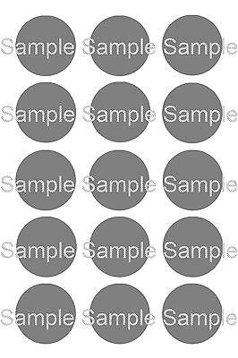 15 - Custom 1 inch Precut Bottle Cap Circle Images