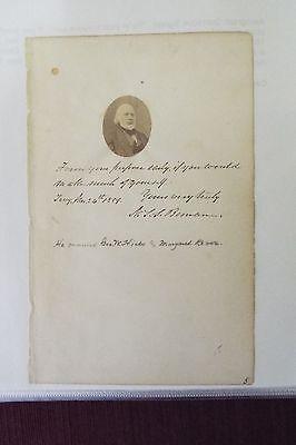 N.S.S. Beman 1859 AQS