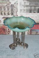 Antica Grande Alzata Coppa In Vetro Di Murano Liberty Deco' Centrotavola -  - ebay.it