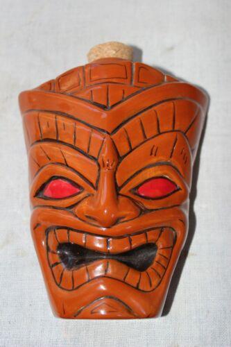 vintage Kahiki Kahakai  Tiki Totem flask decanter Mug