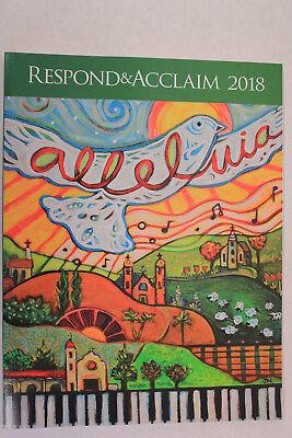 Respond & Acclaim 2018 RA-181 (By Owen Alstott ) Keyboard/Guitar Songbook