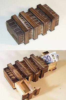 Ideales Geschenk - Geld-Geschenkbox - Trickkiste - Zauberkiste