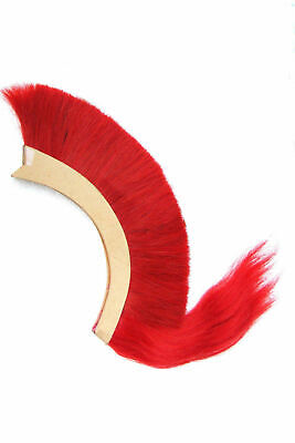 HALLOWEEN Red Crest Brush Nylon For Greek Corinthian Helmet