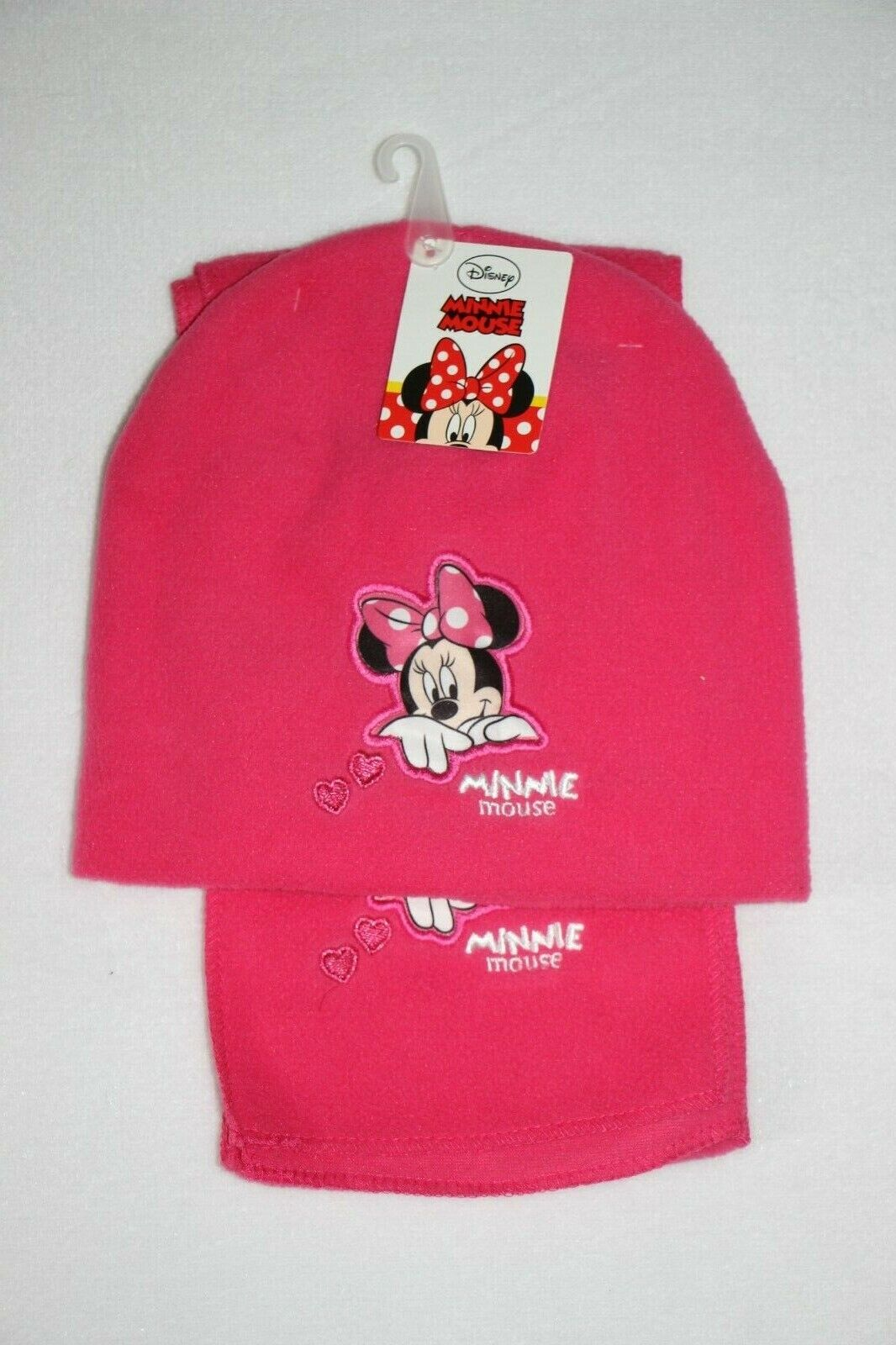 lot bonnet + écharpe MINNIE