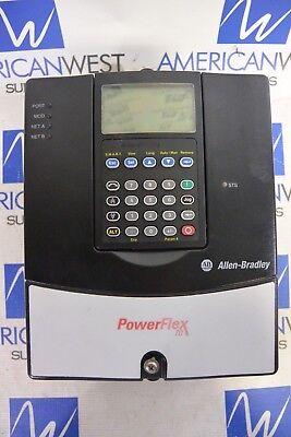 Allen Bradley 20a B 9p6f 3 Aynnn 3ph 240v 3hp Variable Frequency Drive - Used